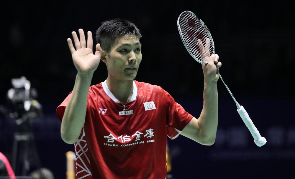 Chou Tien Chen Badminton Athlete