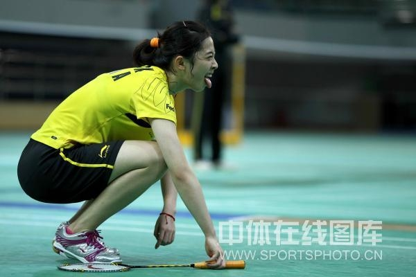 wang shixian badminton athlete
