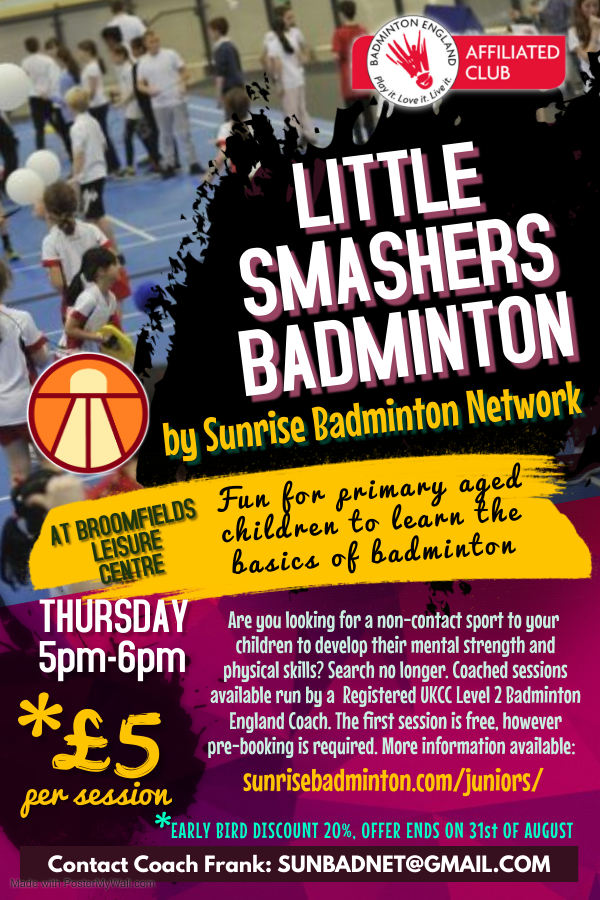little-smashers-badminton-warrington-offer-sept-2021
